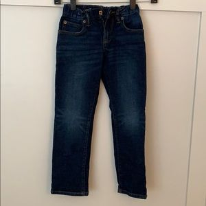 Boys Gap size 7 straight jeans